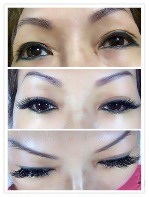 Eyelash Extensions in San Mateo