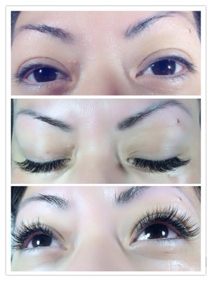 San Mateo 100% Mink Eyelash Extensions at Angel Skin Care in  San Mateo California