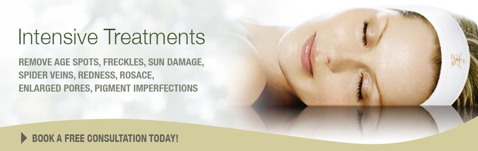 Intensive Skin Care Treatment for men and women  in Burlingame, Hillborough, San Mateo, California